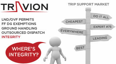 click to visit Travion Flight Management