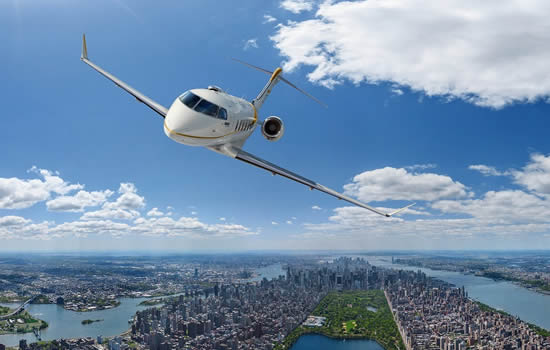Challenger 350 reaches milestone 350th delivery