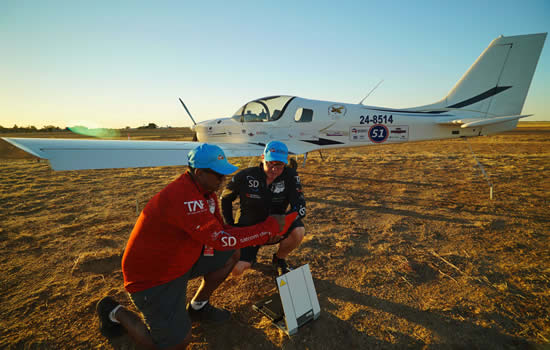 Satcom Direct supports Outback Aviators' inspirational air race adventure