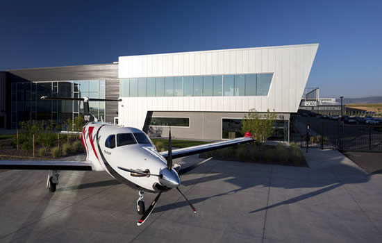 Pilatus opens new PC-12 NG and PC-24 US completions facility in Broomfield, CO.