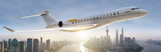 Bombardier's flagship Global 7500 enters service.