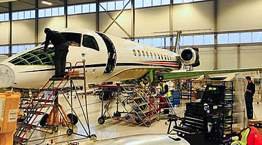 Embraer authorized service center launched at FBO RIGA.