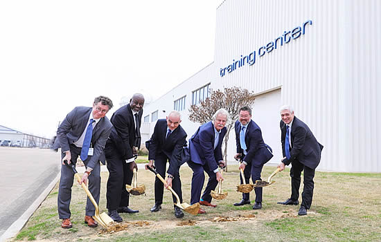 Airbus Helicopters and Helisim break ground on expanded North American training center.