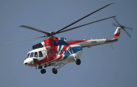 Russian Helicopters begins certification of Mi-171A2 helicopter in Brazil