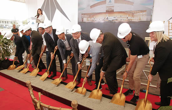 Metrojet breaks ground on new Philippines maintenance facility.