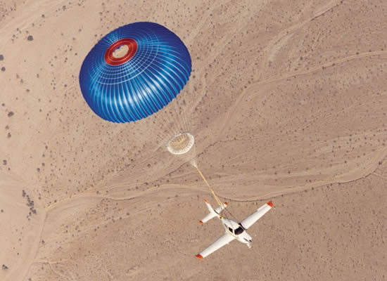 BRS whole aircraft parachute rescue system achieves historic milestone.