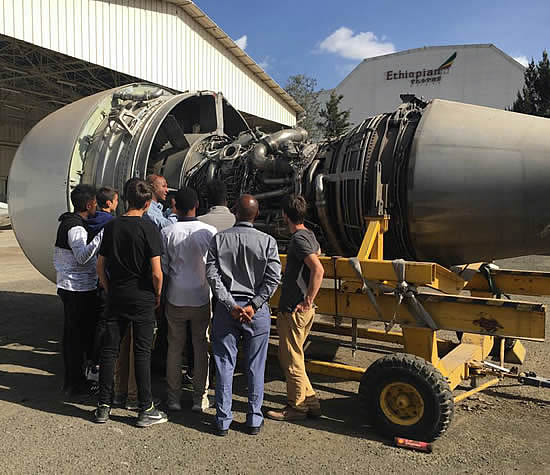 Krimson supports next generation of African aviators in Addis Ababa.