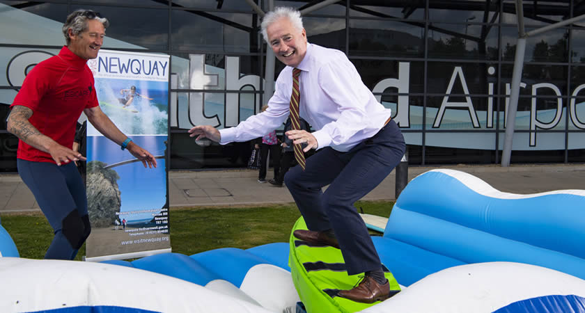 Surf's Up at London Southend Airport