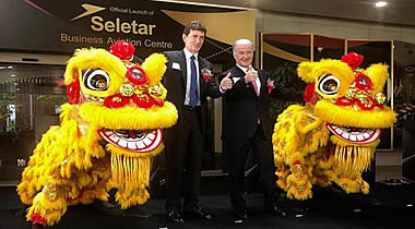 Universal Aviation Singapore celebrates inauguration of new Seletar Business Aviation Centre