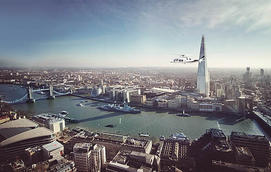 London must change helicopter policy to keep city open for business