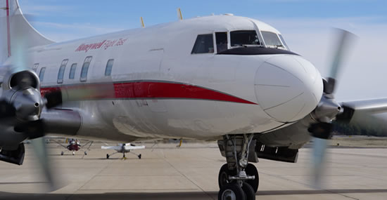 Honeywell retires Convair 580 test aircraft after 67 remarkable years of service