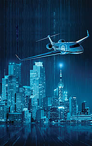 significant rise in frequency of cybersecurity threats to business aviation