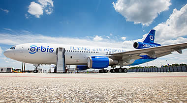 Fuelworx and Orbis UK join forces to power-up the Flying Eye Hospital