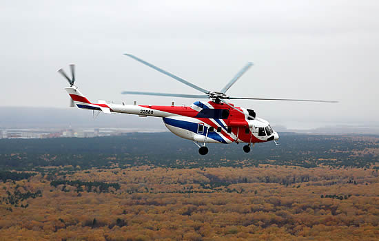 Russian Helicopters' Mi-171A2 certified in India and Colombia
