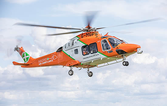 Magpas Air Ambulance 'humbled' by PPE donations