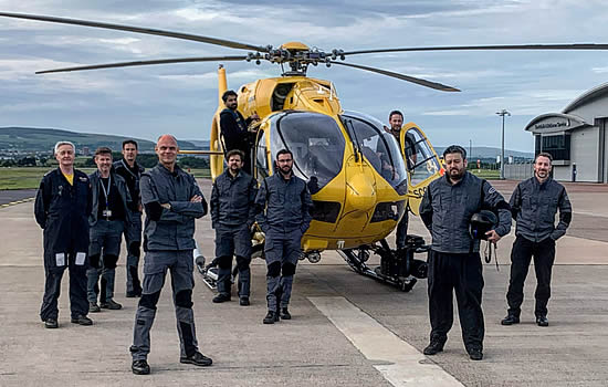 New Scottish HEMS role for Gama Aviation as it weathers the COVID crisis and prepares for the future
