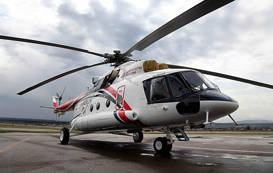 Civilian Mi-8AMT Arctic helicopter goes into production