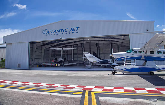 Sheltair welcomes Atlantic Jet Refinishing to FXE