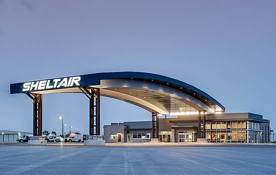 Sheltair unveils new Denver FBO and hangar complex