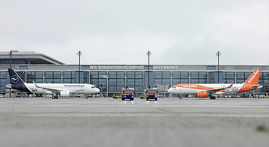 Berlin Brandenburg opens - and new commercial airlines wait in the wings.