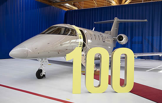 100th PC-24 delivered since 2018