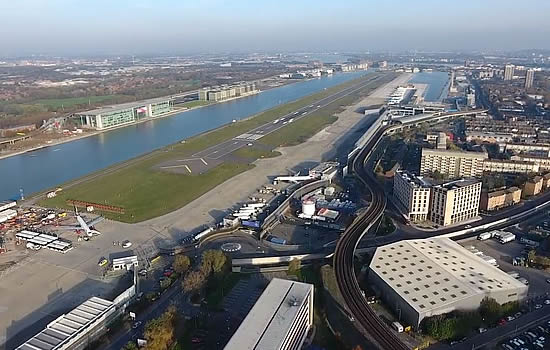 London City Airport celebrates completion of key airfield infrastructure projects