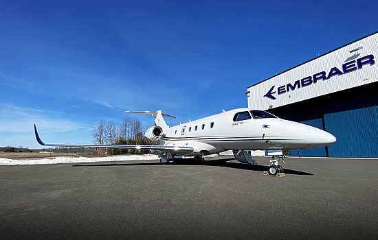 Embraer delivers new Praetor 500 conversion to Canada's AirSprint