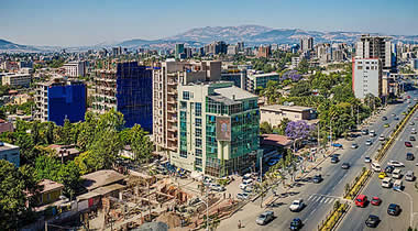 Addis Ababa, Ethiopia's capital in the highlands bordering the Great Rift Valley, is the country's commercial and cultural hub.