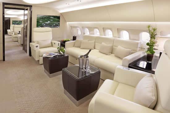 Bluesky business aviation news for Gulfstream v bedroom