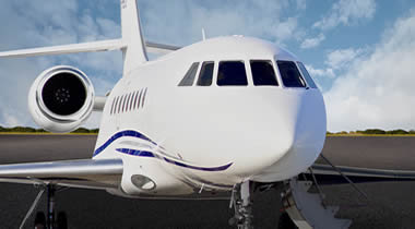 Interflight Middle East welcomes Falcon 2000