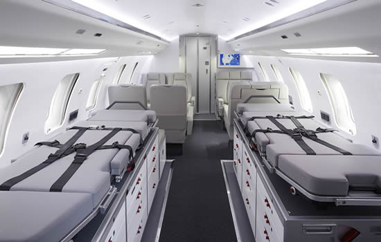Flying Colours Corp first to outfit Challenger 650 in medevac format